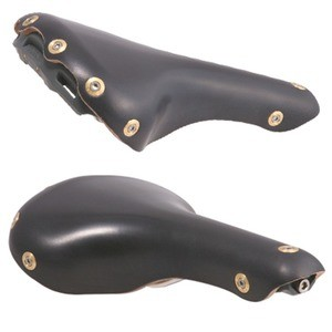 Gilles Berthoud Aspin Leather Saddle - Black