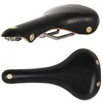 Gilles Berthoud Soulor Leather Saddle - Black