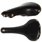 Gilles Berthoud Aravis Leather Saddle - Black