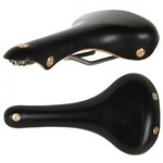Gilles Berthoud Galibier Leather Saddle - Black