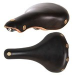 Gilles Berthoud Marie Blanque Leather Saddle - Black