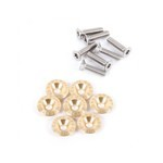 Set of 7 Fixings for Berthoud Soulor/Galibier Saddles
