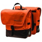 Blackburn Local Saddle Bag Bike Panniers - Orange/Brown