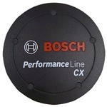 Bosch Performance Line CX Motors Cover Cap Black Without Intermediate Ring