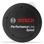 Bosch Performance Line Speed Motors Cover Cap Black Without Intermediate Ring