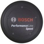 Bosch Performance Line Speed Motors Cover Cap Black with Spacer Ring