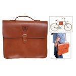 Brave Classics Frame-Pack  Bike Bag Leather Brown