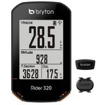 Bryton Rider 320 T Bike GPS - Heart rate monitor & Cadence