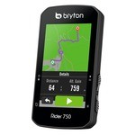 Bryton Rider 750 E GPS Computer + Support