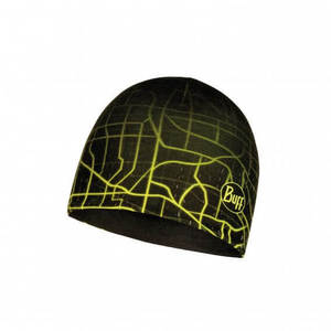 Buff Microfiber Reversible Hat - R-Extent Black