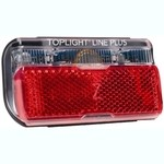 Busch & Müller Toplight Brake line plus Rear light - 323/8ALTV (80 mm)