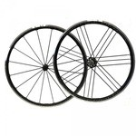 Campagnolo Shamal Ultra C17 Dark Label Wheelset - Freehub Shimano