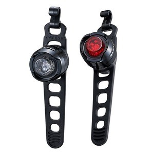 Cateye Front/rear ORB Rechargeable Lighting Set