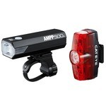 Cateye AMPP 500 (Front) and Rapid Mini (Rear) Lighting Set