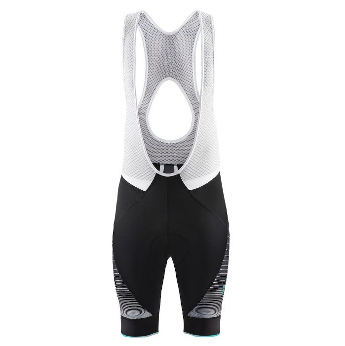 Craft Gran Fondo Bib Shorts - Black/Turquoise