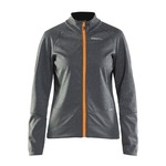 Craft Rime Rainjacket - Grey/Orange