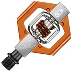 Crankbrothers Candy 2 Pedals (Silver/Orange)