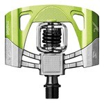 Crankbrothers Mallet 2 Pedals - Raw/Green