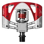 Crankbrothers Mallet 3 Pedals - Red/Silver
