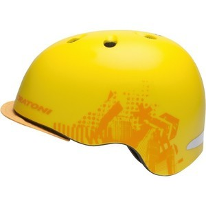 Cratoni C-Reel BMX Helmet - Yellow