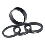 "Deda Elementi Alu Spacer for Headset 1 1/8"" - 5 mm - Black"