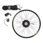 "Ebike75 Kit Ibex 350W Rear Engine Mavic Rim 29"" V A 319 16 Black"