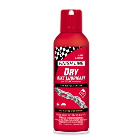 Finish Line Dry Lube Teflon Spray - 500 ml