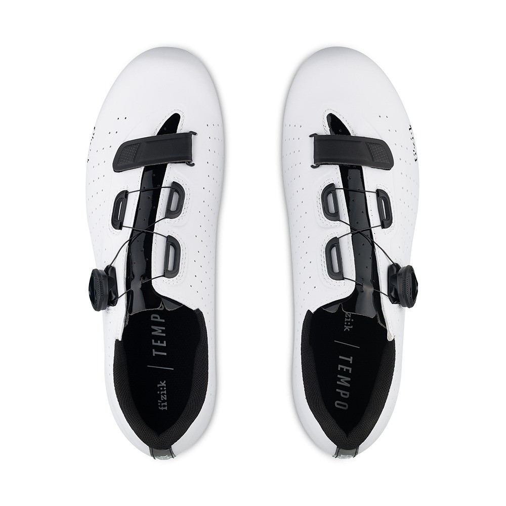 Fizik Tempo R5 Overcurve Road Shoes - White / Black