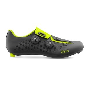 Fizik Aria R3 Cycling Shoes - Black/Yellow Fluo