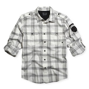 FOX SW SHIRT ESTEBAN WHITE