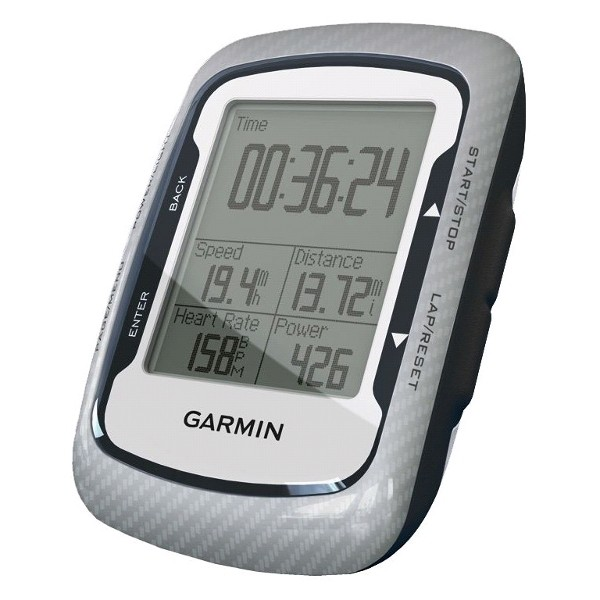 GPS Bicycle :: GPS Garmin Edge 500 Carbon Design