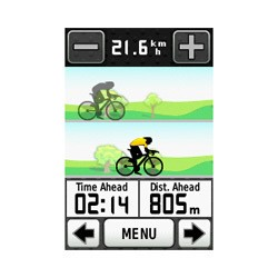 GPS Bicycle :: Bike GPS Garmin Edge 800 (Black/White)