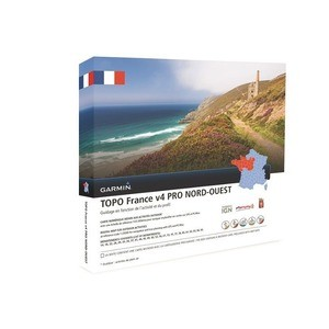 TOPO France Nord Ouest