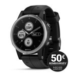 Garmin Fenix 5 PLUS GPS Outdoor - Grey/Black