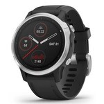 Garmin Fenix 6S GPS Watch - Silver-Black