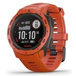 Garmin Instinct GPS Watch - Fire Red