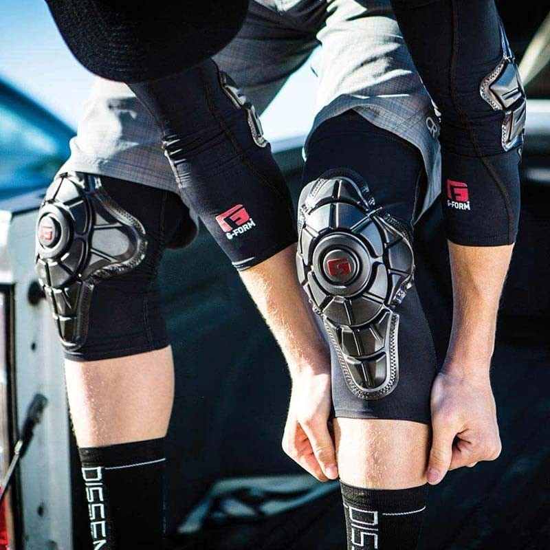 G-Form Pro-X Knee Protector Black Logo