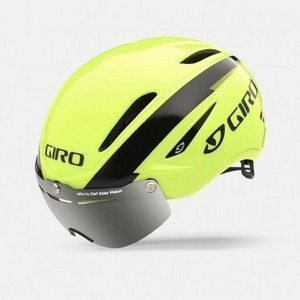 Helmet Giro Air Attack Shield - Hightlight Yellow/Black