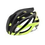 Giro Atmos 2 Helmet - Matte Black/Hoghlight Yellow