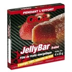 GO2  Jelly Bar Strawberry Fruit Energy Bar - 4 x 25 g