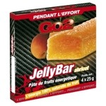 GO2  Jelly Bar Apricot Fruit Energy Bar - 4 x 25 g