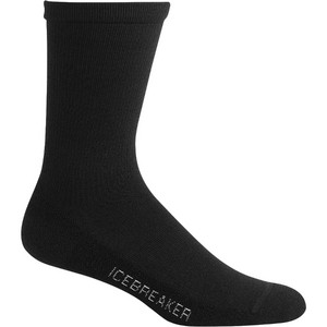 07fe51ee00 Icebreaker Womens Lifestyle Light Crew Socks IBN313 - Black ...