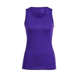 Icebreaker Aero Tank Baselayer - Purple