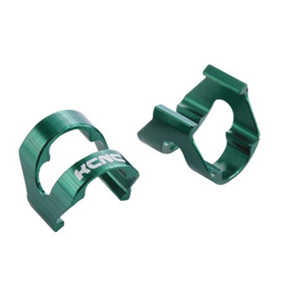 KCNC Cable Housing Clips C-clip [x10] - Green