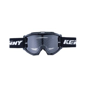 Kenny Track Black Goggle - Clear