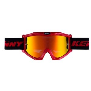 Kenny Track+ Red Goggle - Orange Iridium