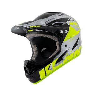 Kenny Downhill Graphic Full-Face Helmet Neon Yellow/Silver