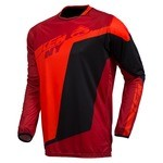 Kenny Factory LS Jersey - Red/Black/Orange