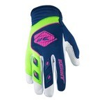 Kenny Track MTB Gloves - Navy/Lime