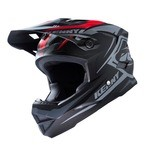Kenny Scrub Fullface Helmet - Black/Red